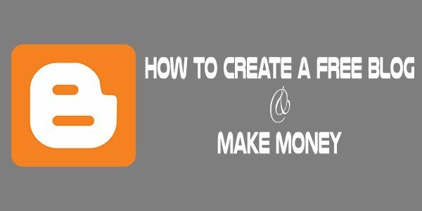 Make Money Free Blog Blogspot