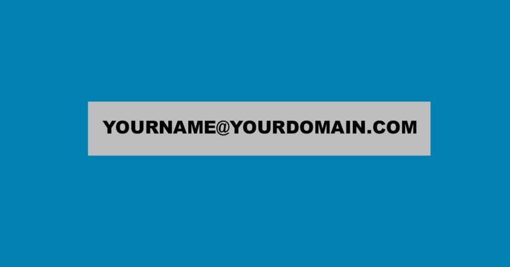 Good Email Name _ Custom Domain
