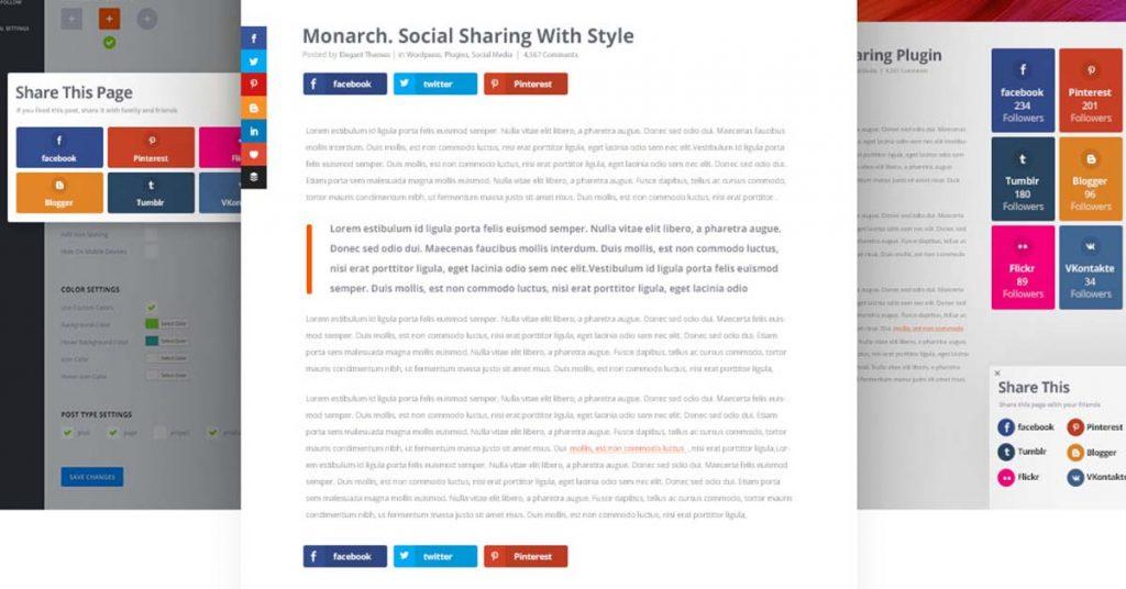 Monarch Social Share Locations