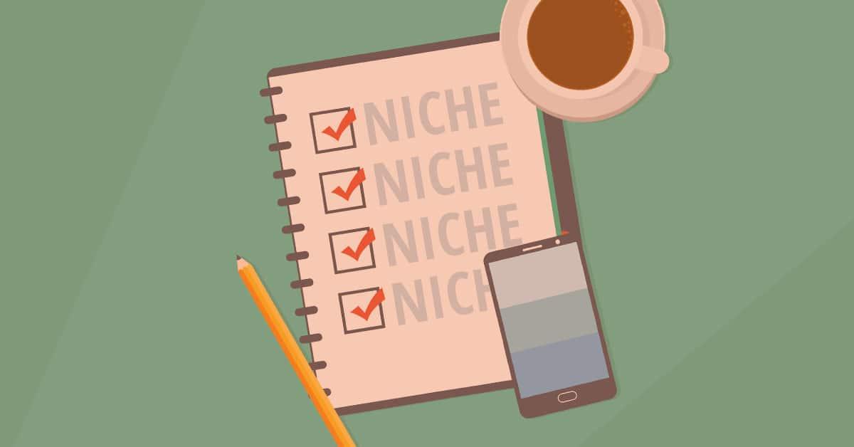Choosing a Niche for Blog - Start a blog from Scratch