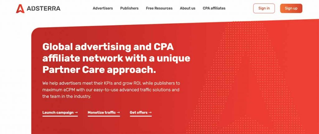 Adsterra Ad Network